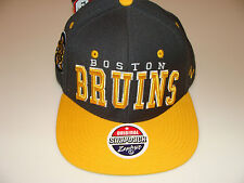Boston Bruins Zephyr Gray Superstar Snapback Hat Cap NHL Hockey Adjustable