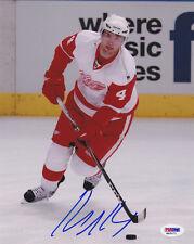 Jakub Kindl SIGNED 8x10 Photo Detroit Red Wings PSA/DNA AUTOGRAPHED