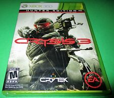 Crysis 3 -- Hunter Edition Microsoft Xbox 360 *Factory Sealed! *Free Shipping!