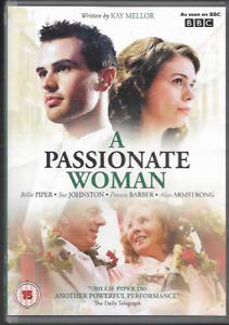 A PASSIONATE WOMAN BBC DRAMA R2 DVD BILLIE PIPER SUE JOHNSTONE ALUN ARMSTRONG