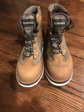 Simms Wading Boots Felt Bottom Mens Size 8 Fishing Excellent Used Condition