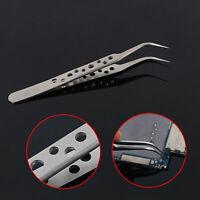 Pinzas acero inoxidable precisión 7-SA herramientas reparación tabletas teléfono