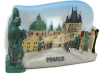 Charles Bridge, PRAGUE SOUVENIR RESIN 3D FRIDGE MAGNET SOUVENIR TOURIST GIFT 016