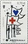 "TIMBRE FRANCE NEUF 2016 ""la croix rouge DECASTELBAJAC LOVE COLLECTION""Y&T 5109"