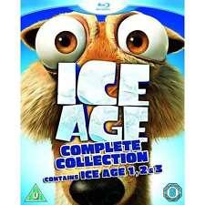 Ice Age Trilogy Blu-ray Region B NEW!