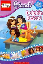 LEGO Friends: Dolphin Rescue (Chapter Book #5)-ExLibrary