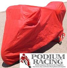 CUSTOM FIT SUPERBIKE BIKE COVER IN RED FOR DUCATI 749 999 999S 999R