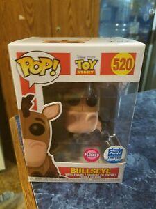 Funko Pop! Bullseye (flocked) Funko Shop Exclusive Disney Pixar Toy Story #520