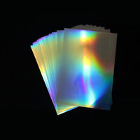 A4 Glossy Photo Paper Waterproof Inkjet Laser Glossy Printer Label Sheet Craft
