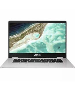 ASUS C523N Touch 15.6 Intel N3350 Chromebook - 64 GB eMMC Silver