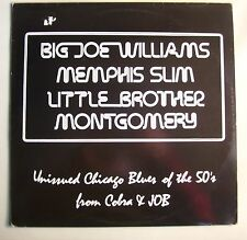 Unissued Chicago Blues of the 50s LP~Big Joe Williams~Memphis Slim~Flyright UK