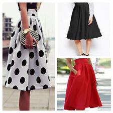 Unbranded Cotton Blend Pleated, Kilt Skirts for Women