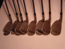 Used Tour Edge Comp LX Iron Set Steel Shafts Men's Right Hand  FREE SHIPPING