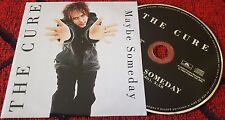 THE CURE ***Maybe Someday*** VERY SCARCE & RARE 2000 Spain PROMO CD Cardsleeve**