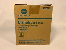 Konica Minolta bizhub C35 Series Yellow Toner Cartridge TNP22Y A0X5232 New