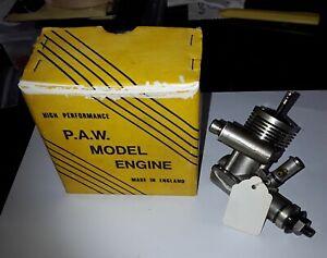 PAW 15 TBR2 control line model aircraft engine