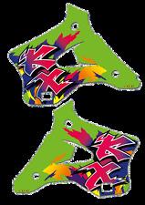 Rad calcomanías (94) Pegatinas de gráficos KX 125 250 1994 a 1998 KX125 KX250