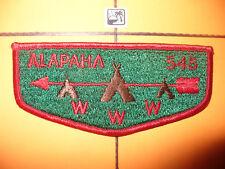 OA Alapaha 545,S-1b,1960,1st Solid Flap,353,98 Withlacoochee,Valdosta,Georgia,GA