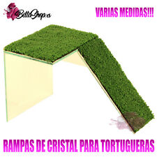 RAMPAS PARA TORTUGAS RAMPAS DE TORTUGAS RAMPA TORTUGA CRISTAL CESPED ARTIFICIAL