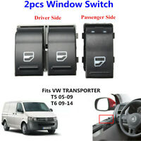Vorne Links Fahrerseite Elektrische Fenster Schalter Für VW T5 T6 7E0959855A