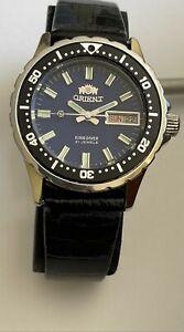 Vintage Orient King diver watch 21 Jewels 469DC6-0 CA 48941 Japan 200 Rare BLUE