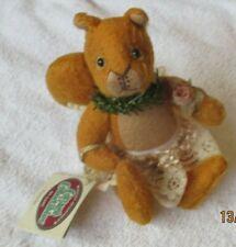 """Cottage Collectibles by Ganz """"Nutasha"""" Squirrel Artist Lorraine Chien 7"""""""