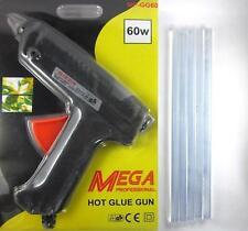 60W Multi Purpose Hot Melt Glue Gun With 2 Small glue sticks + 5 Big Sticks FREE