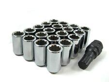 16 Pc Set Tuner Lug Nuts ¦ 12x1.5 ¦ Chrome ¦ Honda Accord Civic CR-V