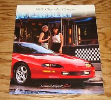 Original 1997 Chevrolet Camaro Sales Brochure 97 Chevy RS Z28
