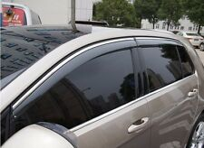 4pcs Injected Sun Visor Window Deflectors For VW Golf 7 GTI R MK7 VII 2016 2017