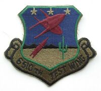 US AIR FORCE PATCH 6510th Test Wing BDU Battle Uniform Badge United States USAF