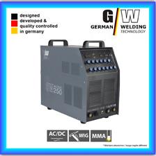 Vector Schweißgerät Ac/dc Wig OW 250 Puls Inverter mit Plasma Alu TIG Arc MMA