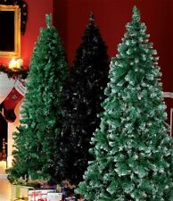 6FT Green Artificial Slim Spruce Noble Christmas Xmas Tree