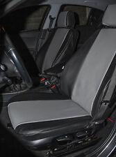 FODERE SEDILI AUTO SU MISURA ASIAM  - BMW SERIE 1 -  SIMILPELLE GRIGIO + NERO