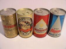 Moosehead Beer Cans Canada
