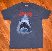 Jaws Short Sleeve T-Shirt Licensed Graphic Size Large (NEW)
