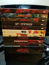 The Angel Collection, Psychos in love, Darkroom, Rawforce. Vinegar Syndrome
