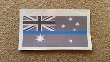 Australian Thin Blue Line decal