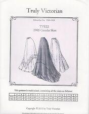 Schnittmuster Truly Victorian TVE 22: 1905 Circular Skirt