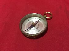 VINTAGE FIELD COMPASS & MAP ORIENTATION COMPAS WORKING GREAT