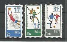 MALTA 1978 FOOTBALL WORLD CUP SG,601-603 UM/M NH LOT 993A