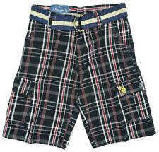 Shorts noirs pour garçon de 2 à 16 ans en 100% coton
