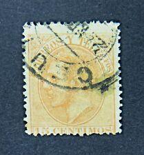 Español 15 CENTIMOS SELLO, correos y Teleg Fos, alrededor de 1882
