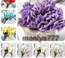 bouquet ARUM  fleur artificielle décoration baptême dragées, mariage,12pcs.