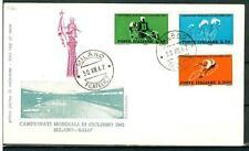 ITALIA REP. - 1962 - Campionati mondiali di ciclismo su FDC - (F)