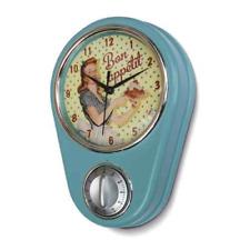 Küchenuhr Uhr blau Kurzzeitmesser Eieruhr Miss Fifties 50-er Jahre Natives