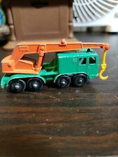 VINTAGE 1960'S LESNEY MATCHBOX SERIES 8 WHEEL CRANE NO.30 ENGLAND Great