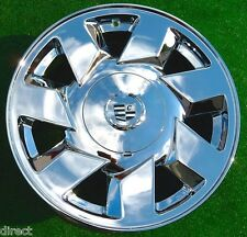 4 NEW Chrome Cadillac Deville DTS 17 inch EXACT OEM SPEC WHEELS STS CTS Seville