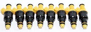Fuel Injectors fit 91-96 Ford F-150/Bronco/E-150 Econoline 5.0L/5.8L V8 8 Pieces