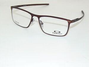 OAKLEY TIE BAR OX5138-0353 Satin Corten Brown 53mm Titanium Authentic Eyeglasses